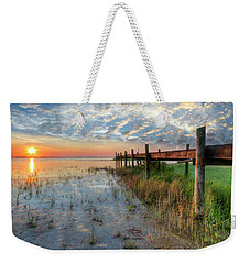 Watching The Sun Rise Weekender Tote Bag