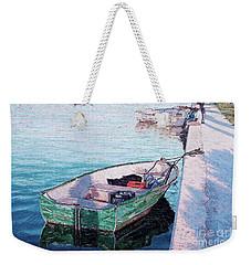 Watching The Tide Weekender Tote Bag