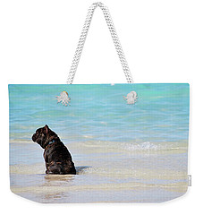 Watching The Waves Weekender Tote Bag