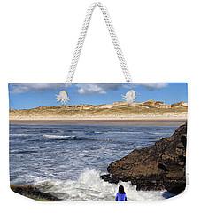 Watching The Waves At Fairy Bridges, Bundoran, Donegal - Ireland Weekender Tote Bag