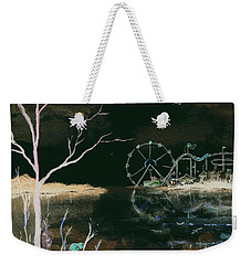 Watching The World Go Round Inverted Weekender Tote Bag