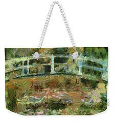 Waterlily Pond Weekender Tote Bag by Dragica Micki Fortuna