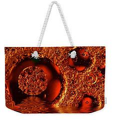 Water And Oil Weekender Tote Bag