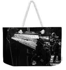 Water And Soot Weekender Tote Bag