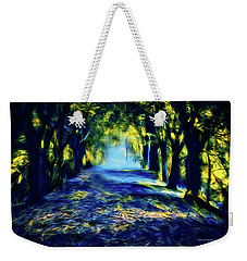 Water And Wind Weekender Tote Bag by Dennis Baswell