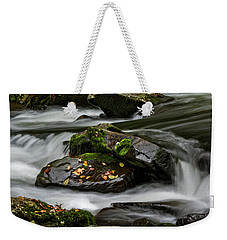 Water Around Rocks Weekender Tote Bag