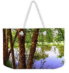 Water Birch Weekender Tote Bag