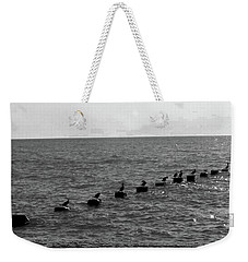 Water Birds Weekender Tote Bag