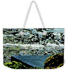 Water Bubbles Gone Wild Weekender Tote Bag by Carol F Austin
