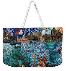 Water City Weekender Tote Bag by Emily McLaughlin