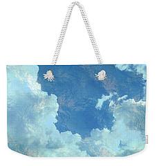 Water Clouds Weekender Tote Bag by Robin Regan