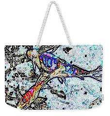 Water Color Koi Weekender Tote Bag