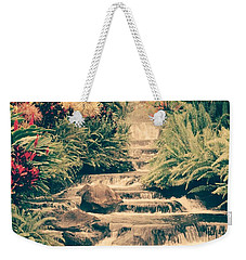 Weekender Tote Bag featuring the photograph Water Creek by Sheila Mcdonald