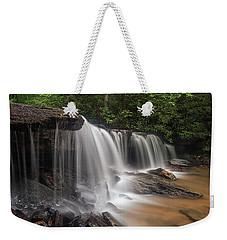 Water Curtain Weekender Tote Bag