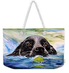 Water Dog Weekender Tote Bag