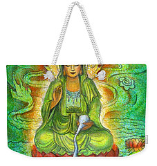 Water Dragon Kuan Yin Weekender Tote Bag