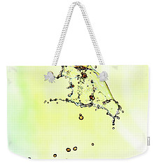 Water Drop #10 Weekender Tote Bag