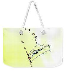 Water Drop #6 Weekender Tote Bag