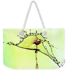 Water Drop #7 Weekender Tote Bag