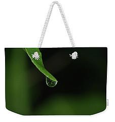 Water Drop Weekender Tote Bag by Richard Rizzo