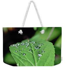 Water Droplets Weekender Tote Bag