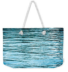 Water Flow Weekender Tote Bag by Steve Gadomski