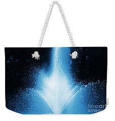 Water Fountain In Blue Weekender Tote Bag