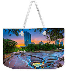 Water Gardens Sunset Weekender Tote Bag