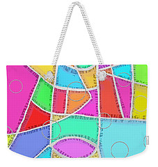 Water Glass Of Light And Color Weekender Tote Bag