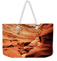 Weekender Tote Bag featuring the photograph Water Holes Canyon  by Norman Hall