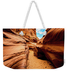 Weekender Tote Bag featuring the photograph Water Holes Canyon Trail by Norman Hall