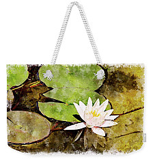 Water Hyacinth Two Wc Weekender Tote Bag