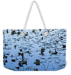 Water Lilies Autumn Song Weekender Tote Bag