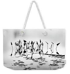 Water Lilies Weekender Tote Bag by Catherine Alfidi