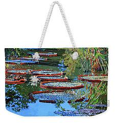 Water Lilies For Amelia Weekender Tote Bag