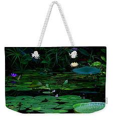 Water Lilies In The Pond Weekender Tote Bag