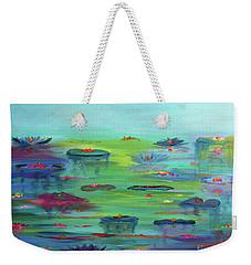 Water Lillies Weekender Tote Bag