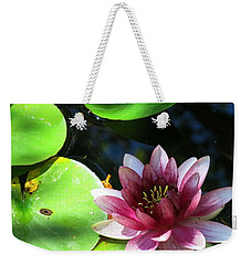 Water Lilly Weekender Tote Bag by Betty Buller Whitehead