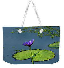 Weekender Tote Bag featuring the photograph Water Lily 2 by Buddy Scott