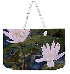 Water Lily At Longwood Gardens Weekender Tote Bag by Laurie Rohner