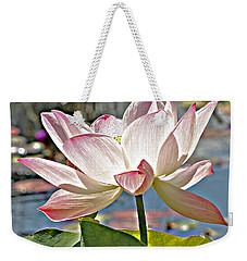 Water Lily Weekender Tote Bag by Catherine Alfidi