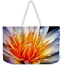 Water Lily Flower Weekender Tote Bag