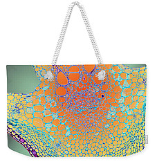 Water Lily Homage Weekender Tote Bag