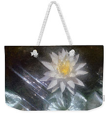 Water Lily In Sunlight Weekender Tote Bag