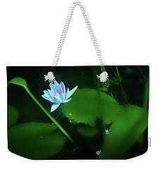 Water Lily N Pond Weekender Tote Bag