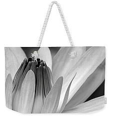 Water Lily Opening Weekender Tote Bag