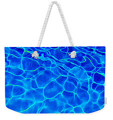 Weekender Tote Bag featuring the photograph Water Logued by Jessica Manelis