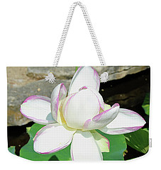 Water Lotus Weekender Tote Bag