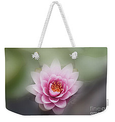 Water Lotus Flower Weekender Tote Bag