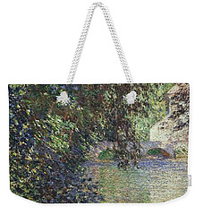 Water Mill At Limetz Weekender Tote Bag